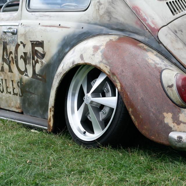 """""""Rat Volkswagen Beetle"""" stock image"""