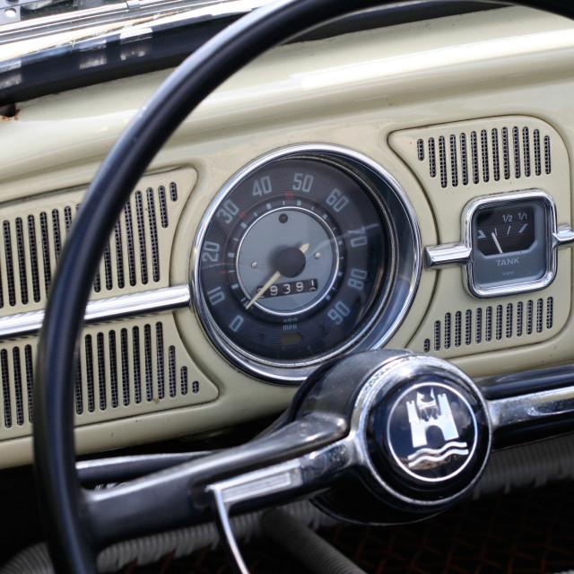 """""""Classic Volkswagen Beetle"""" stock image"""