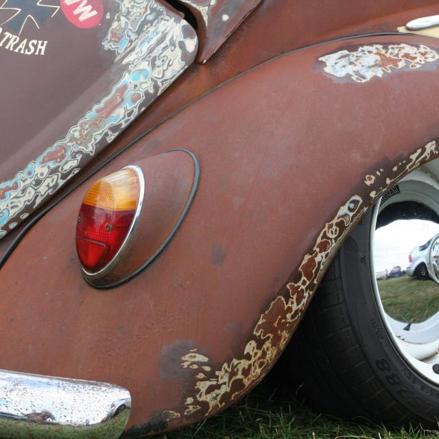 """Slammed VW Beetle"" stock image"