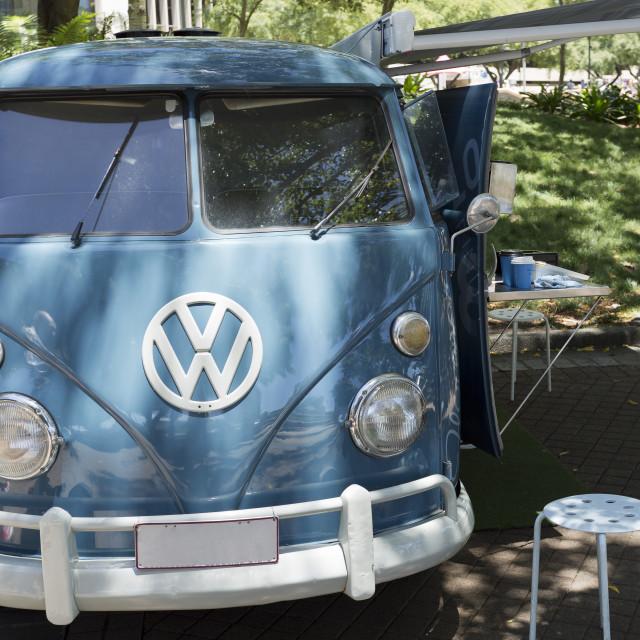 """""""Volkswagen Kombi Type 2"""" stock image"""