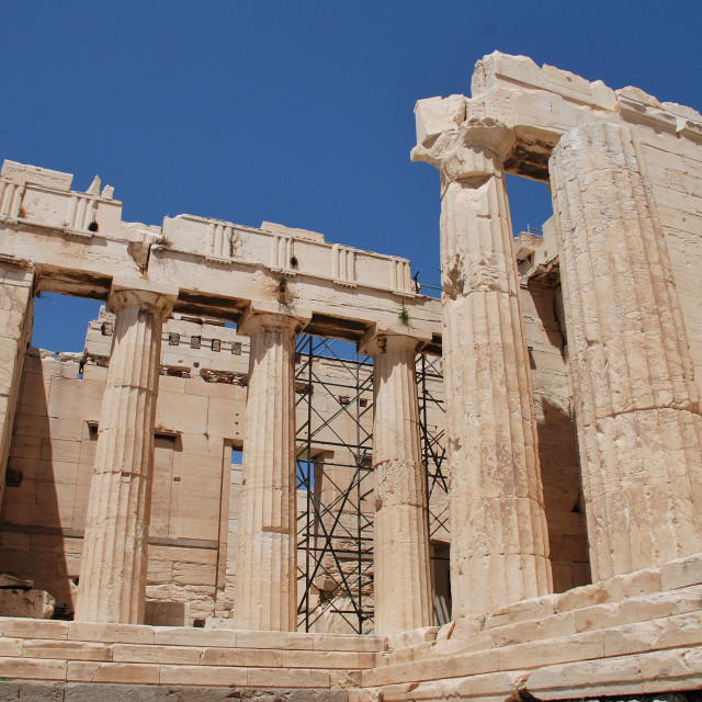 """The Acropolis of Athens"" stock image"