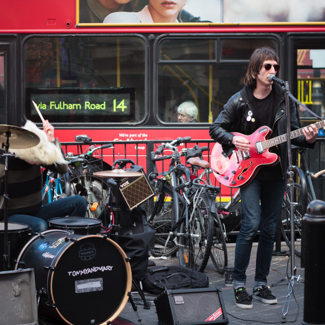 """Street Band"" stock image"