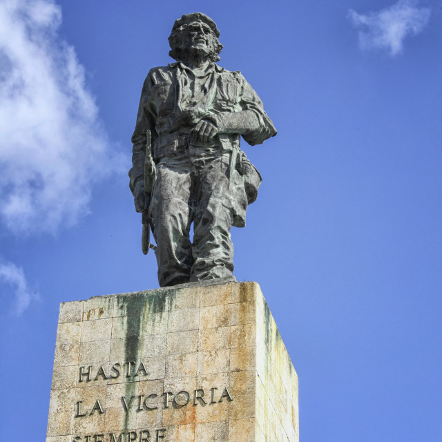 """""""Monument for Che Guevara in Cuba"""" stock image"""