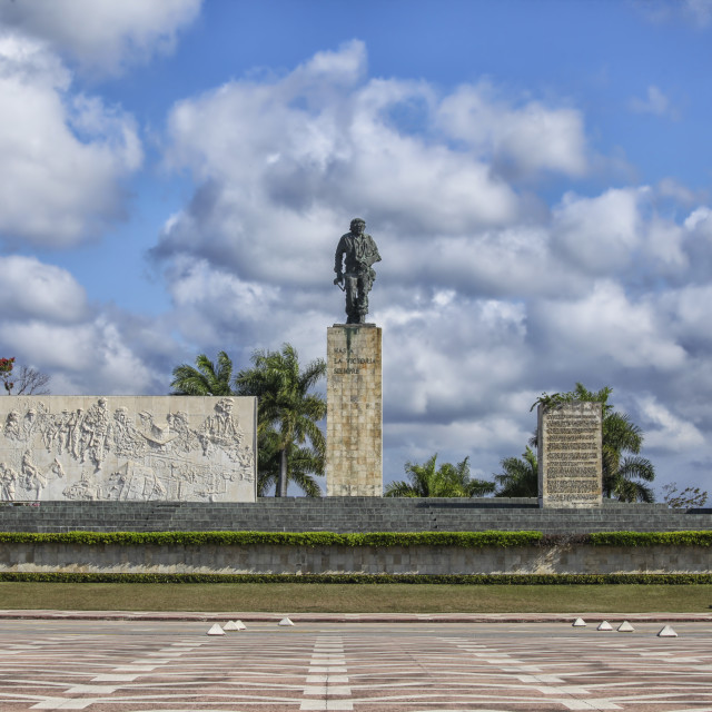 """""""Monument and Mausoleum Che Guevara"""" stock image"""