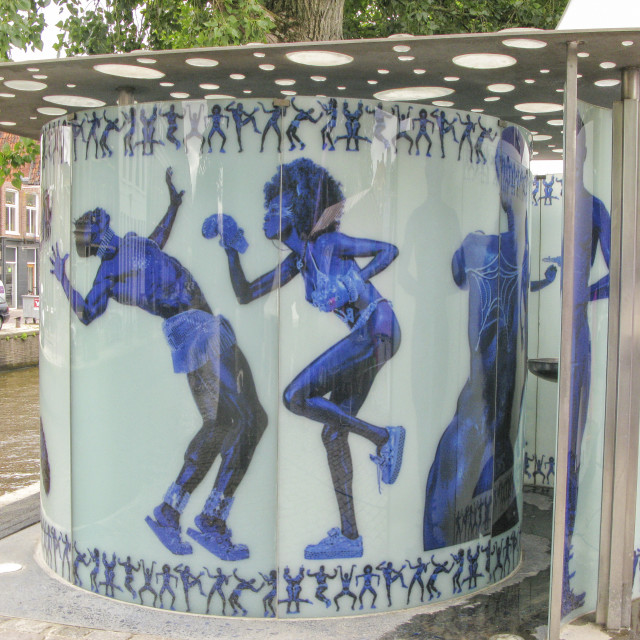 """Design public lavatory"" stock image"