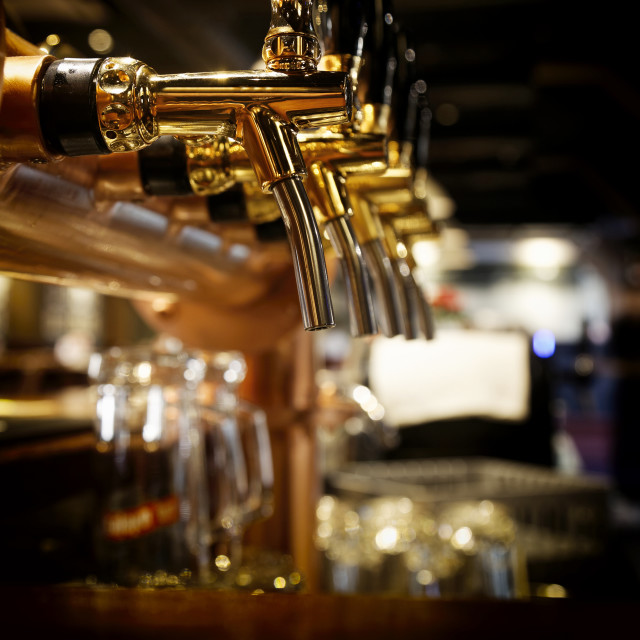"""Beer tap"" stock image"