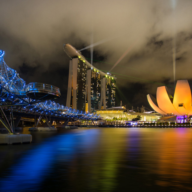 """Marina Bay Sands, Singapore"" stock image"
