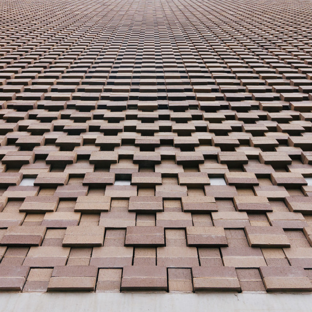 """Brickwork"" stock image"
