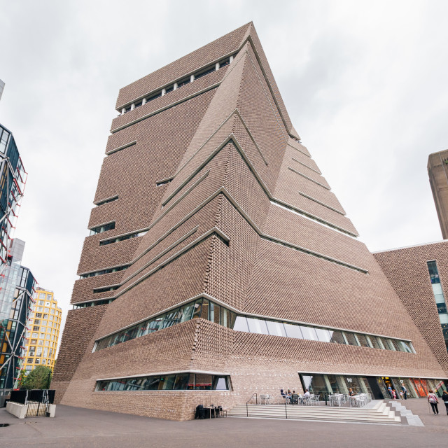 """Tate Modern Switch House"" stock image"