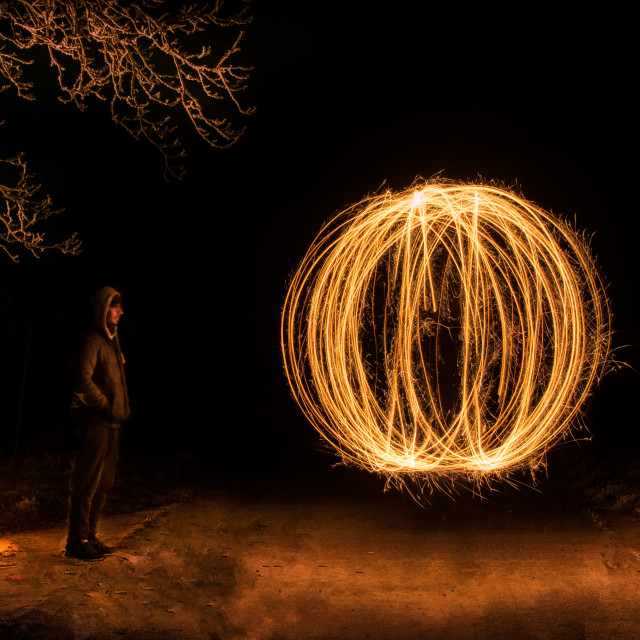 """Light painting color"" stock image"