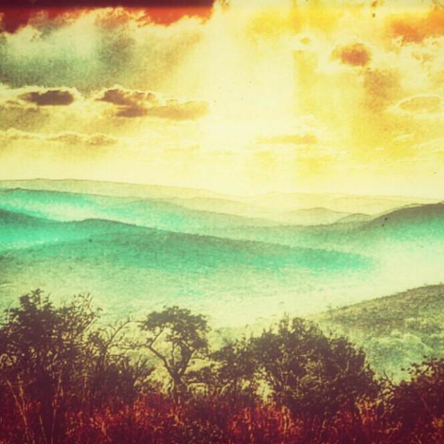 """""""Mountains, Hluhluwe-iMfolozi Park, KwaZulu Natal, South Africa"""" stock image"""