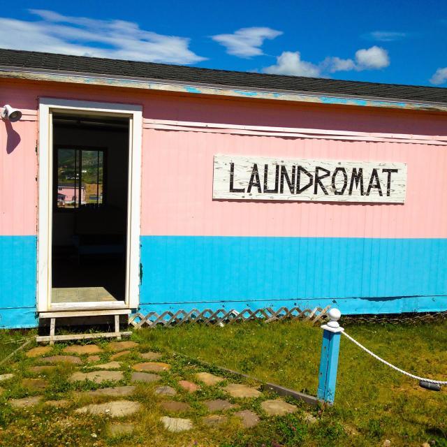 """Laundromat"" stock image"