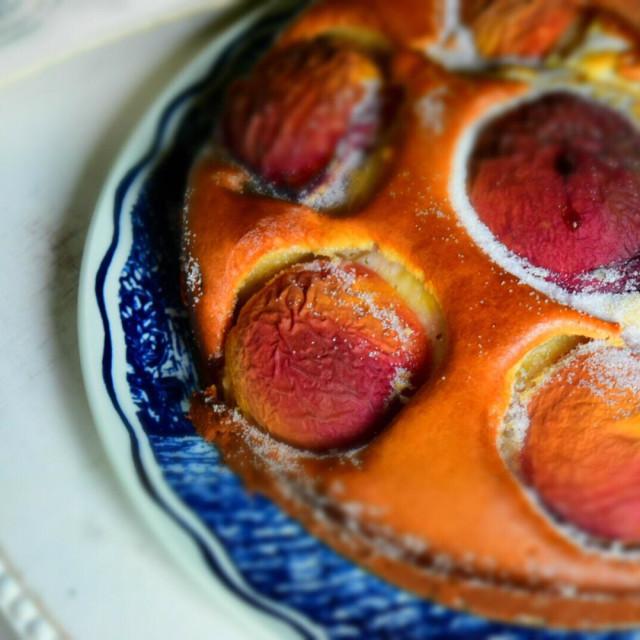 """""""Peach pie"""" stock image"""