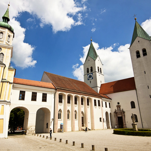 """Freising, Germany - Freising Cathedral"" stock image"