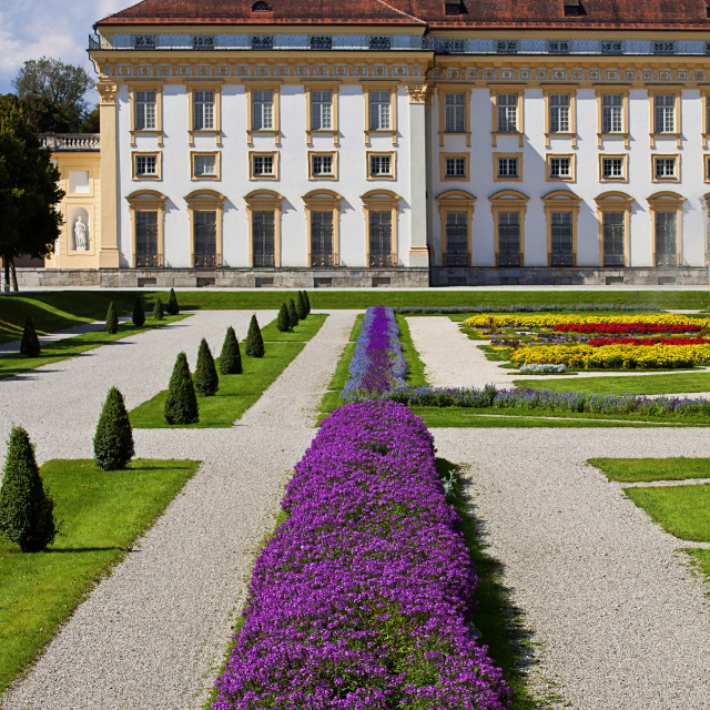 """Oberschleissheim, Germany - New Schleissheim palace"" stock image"