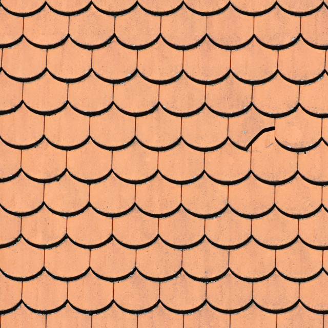 """Hd seamless pattern, vintage tiled roof"" stock image"