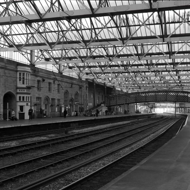 """""""Carlisle Station"""" stock image"""