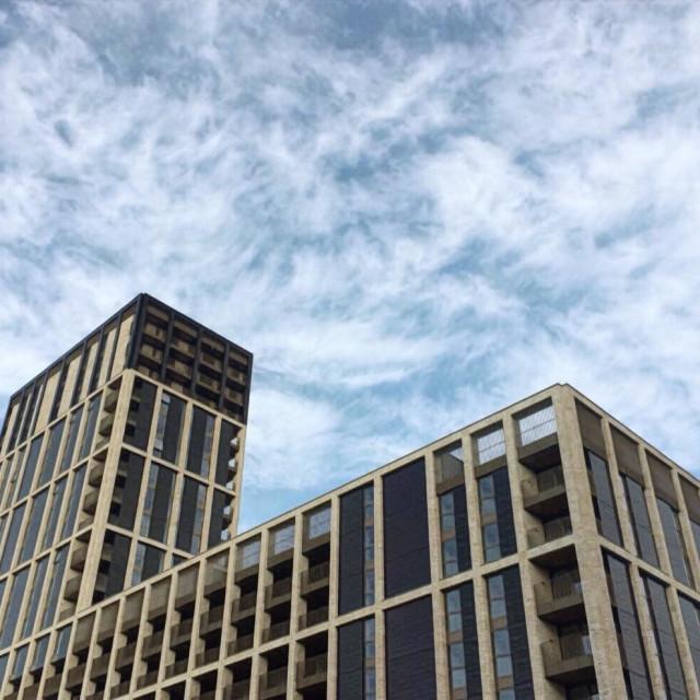"""Building in East Croydon"" stock image"