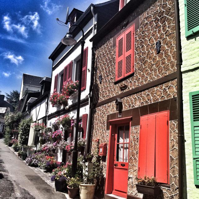 """""""Saint-Valery-sur-Somme"""" stock image"""