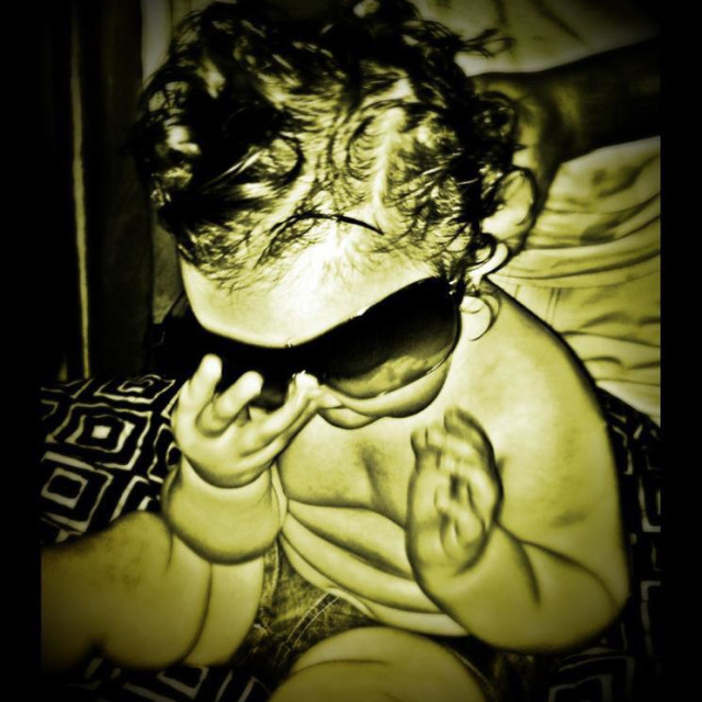"""Rockin' Roll Baby"" stock image"