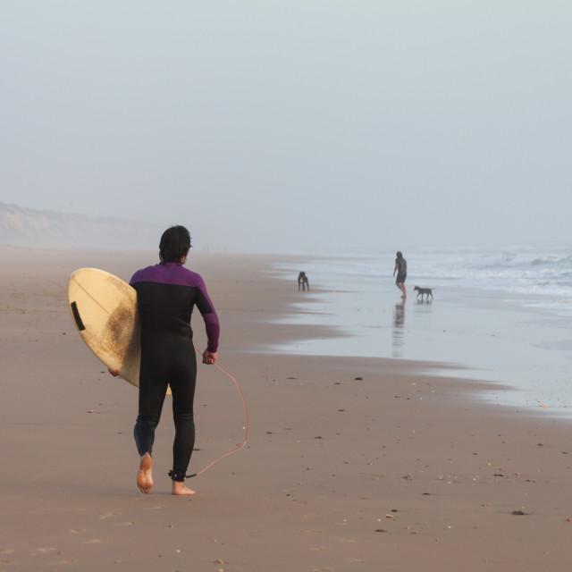 """Surf Life"" stock image"