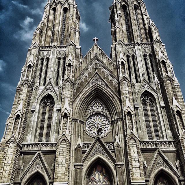 """Church is Mysore !!!"" stock image"