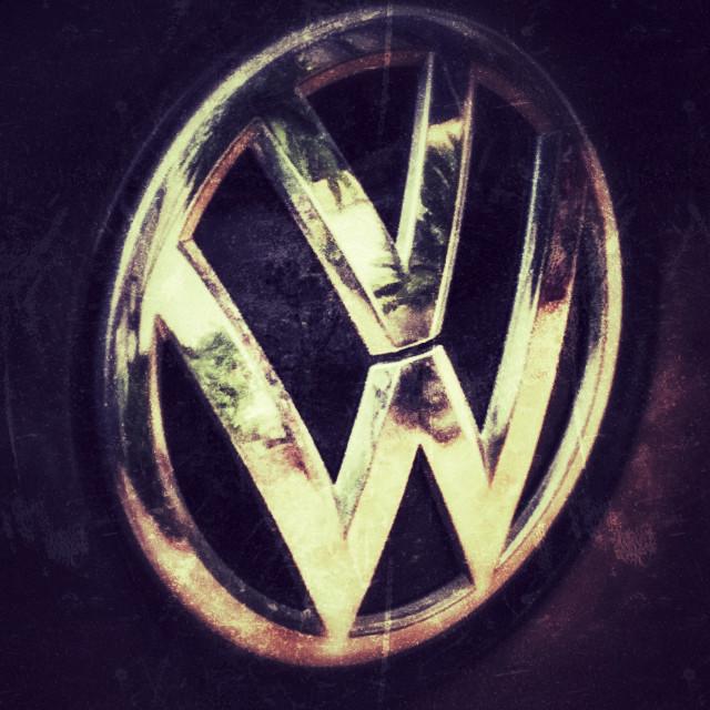 """""""VW car detail"""" stock image"""
