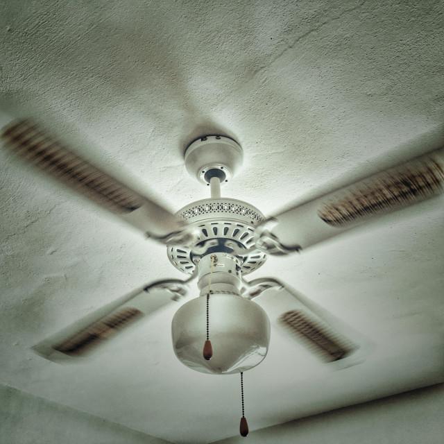 """""""Ceiling fan"""" stock image"""