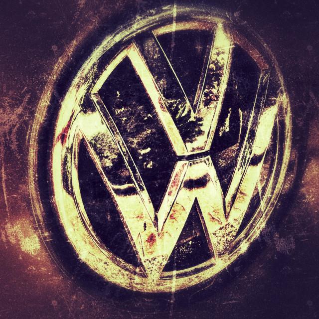 """Volkswagen car logo"" stock image"