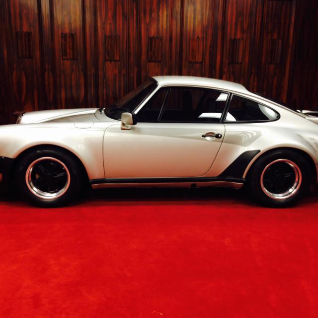 """Classic sports car"" stock image"
