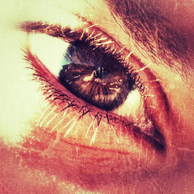 """Teenager's eye, close up"" stock image"