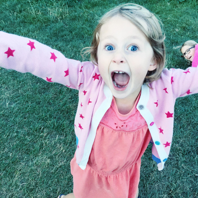"""Cheer girl"" stock image"