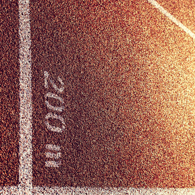 """running track"" stock image"
