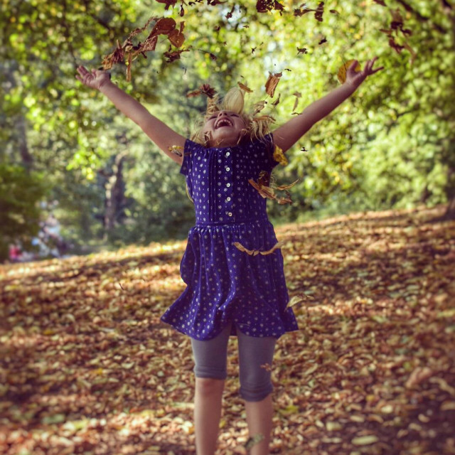 """Autumn in New York City"" stock image"