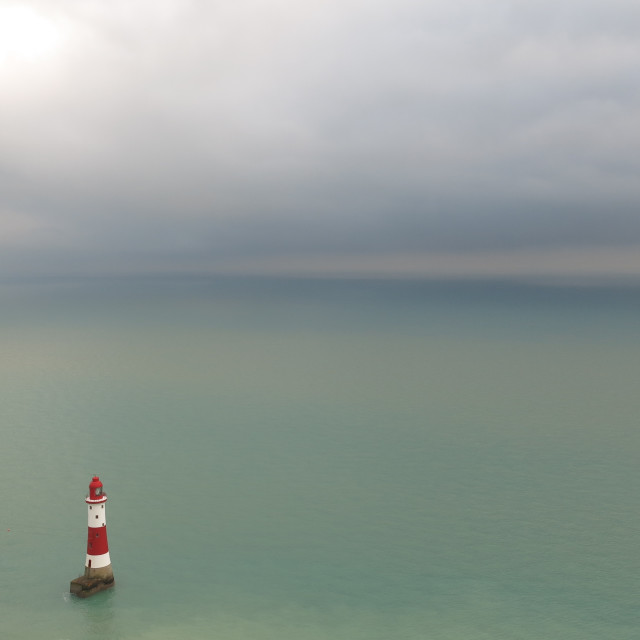 """Beachy Head Lighthouse"" stock image"