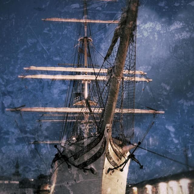 """""""Tallship"""" stock image"""