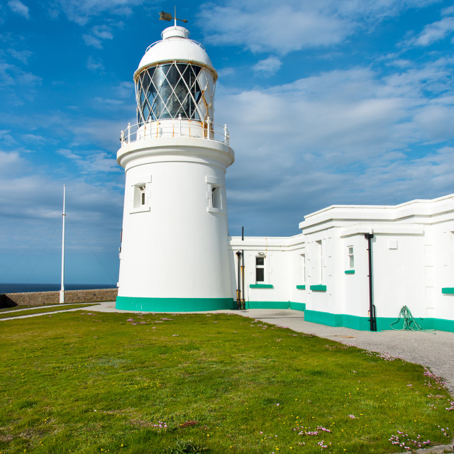 """Pendeen Lighthouse"" stock image"
