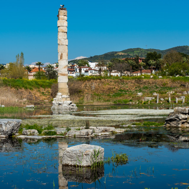 """Temple of Artemis"" stock image"