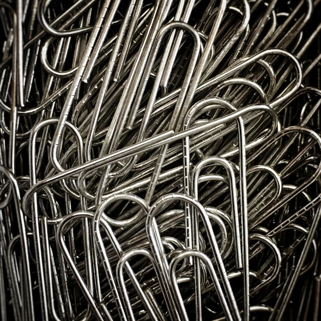 """Paper clips."" stock image"