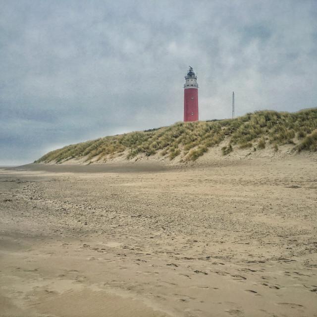 """""""Vuurtoren, Texel"""" stock image"""