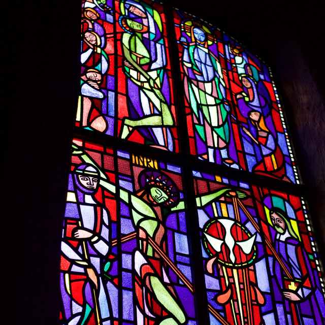 """Stained Glass Detail"" stock image"