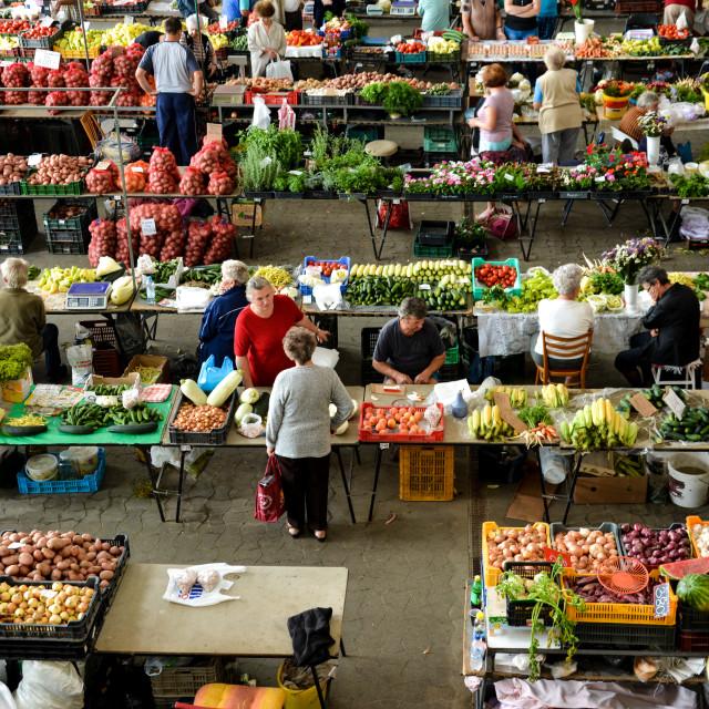 """""""Market"""" stock image"""