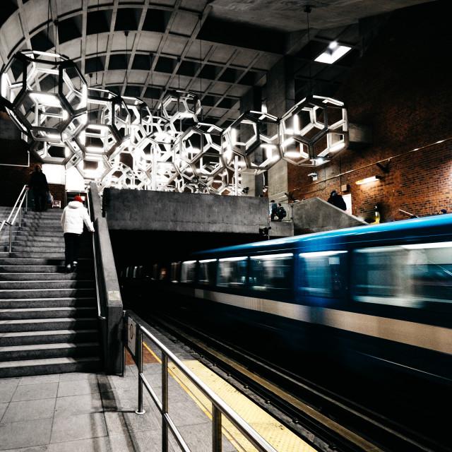 """""""Montreal Metro"""" stock image"""