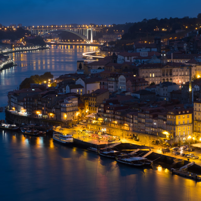 """Porto and the Douro River I"" stock image"