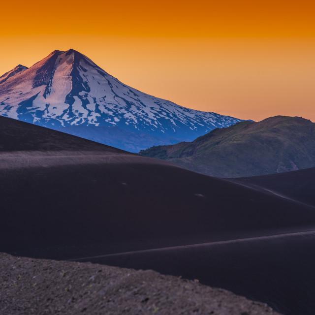 """Llaima Volcano, Chile."" stock image"