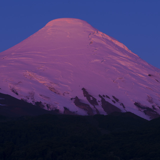 """Osorno volcano, the lakes, Chile"" stock image"