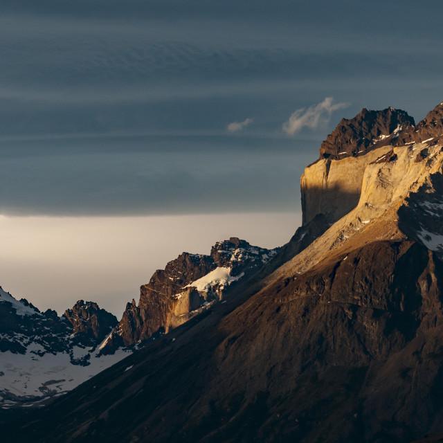 """Torres del paine"" stock image"