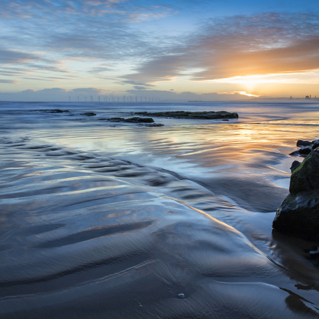 """Hartlepool Dawn"" stock image"