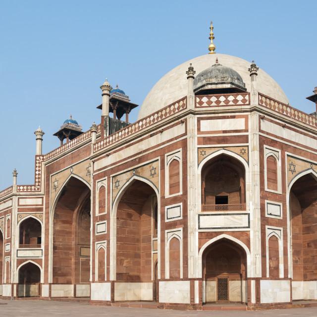 """""""Humayun's Tomb, Delhi"""" stock image"""
