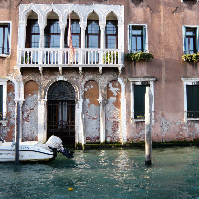 """House, Venice."" stock image"